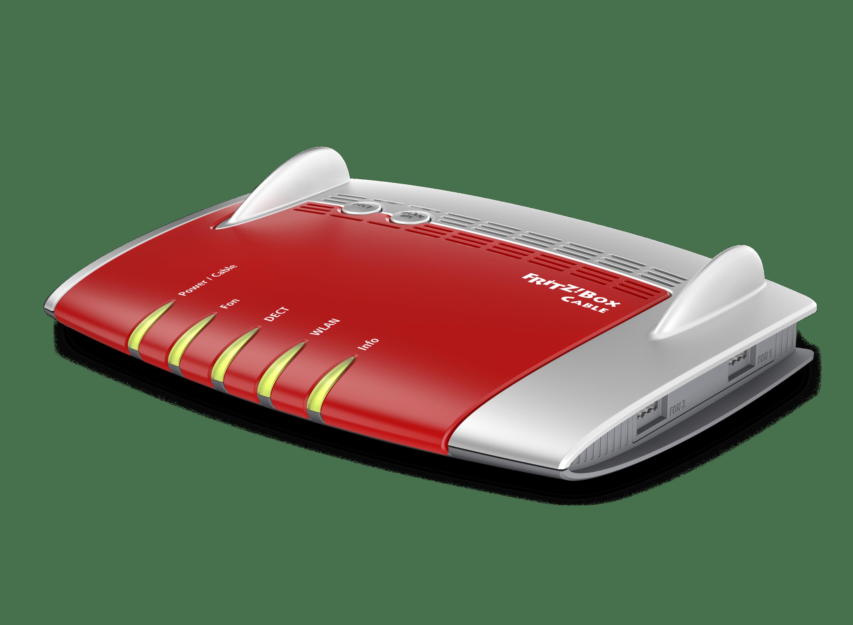 VOLhighspeed Kabel-Internet-Modem AVM FRITZ!Box 6490