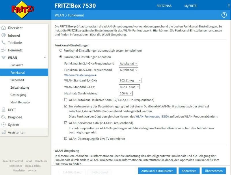 Energie sparen mit der FRITZ!Box 3