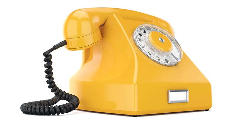 VOLhighspeed Festnetztelefon orange