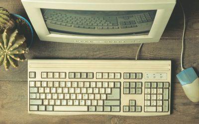 Internet früher und heute