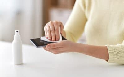 Keimfalle Smartphone – 6 Tipps für ein hygienisches Handy