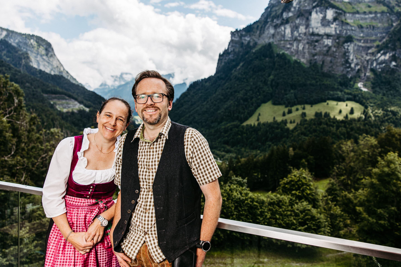 Kabelinternet: Zu Besuch im Gasthaus Kreuz und im Berghaus Kanisfluh 9